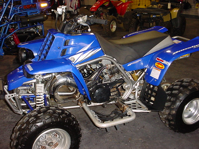 Yamaha Banshee 350 Twin Top Speed